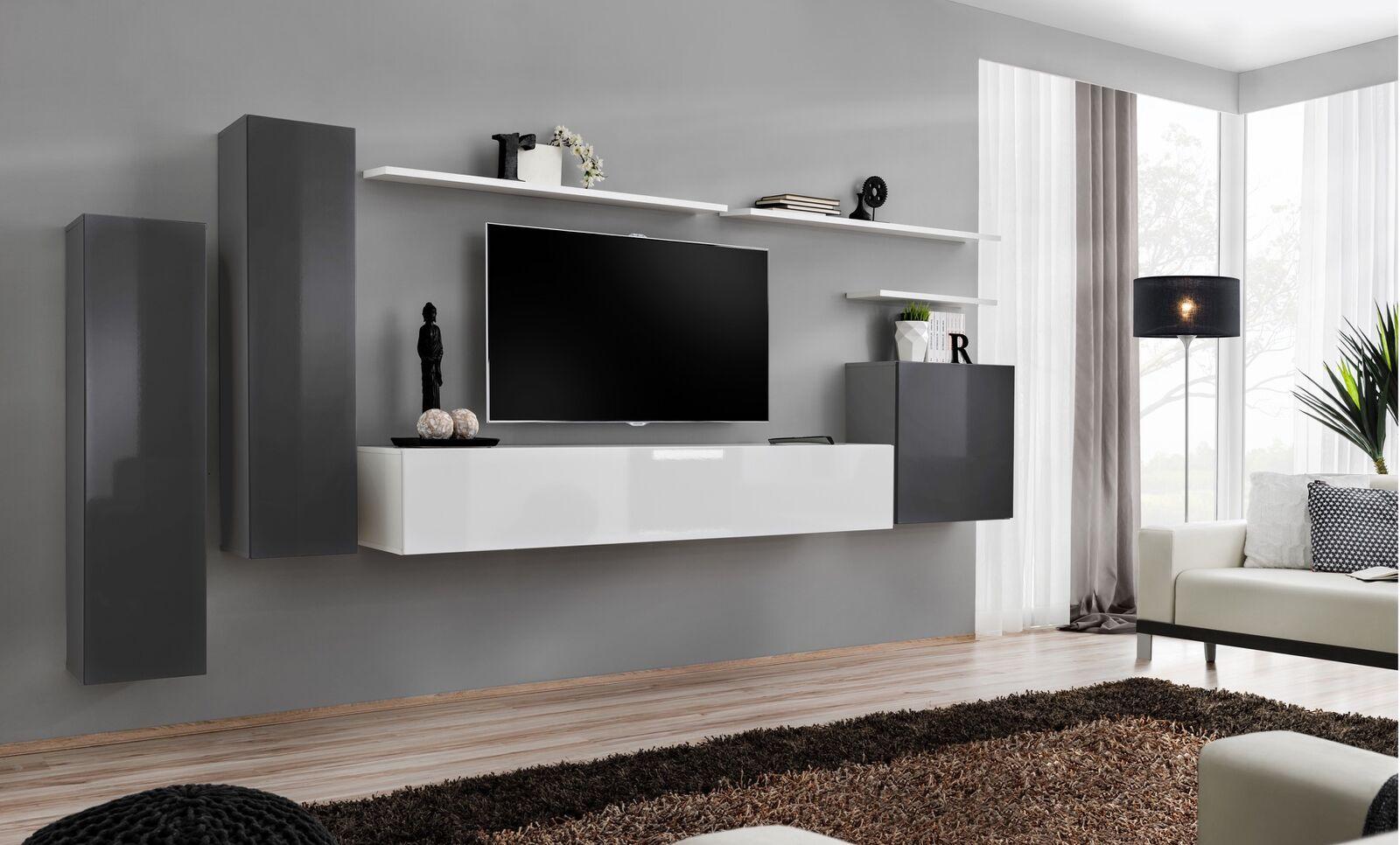 Meuble Tele Meuble Tv Hifi Meuble Tv Moderne Meubles Tv Design Meuble Tv Meuble Living Room Wall Units Living Room Corner Shelving Units Living Room