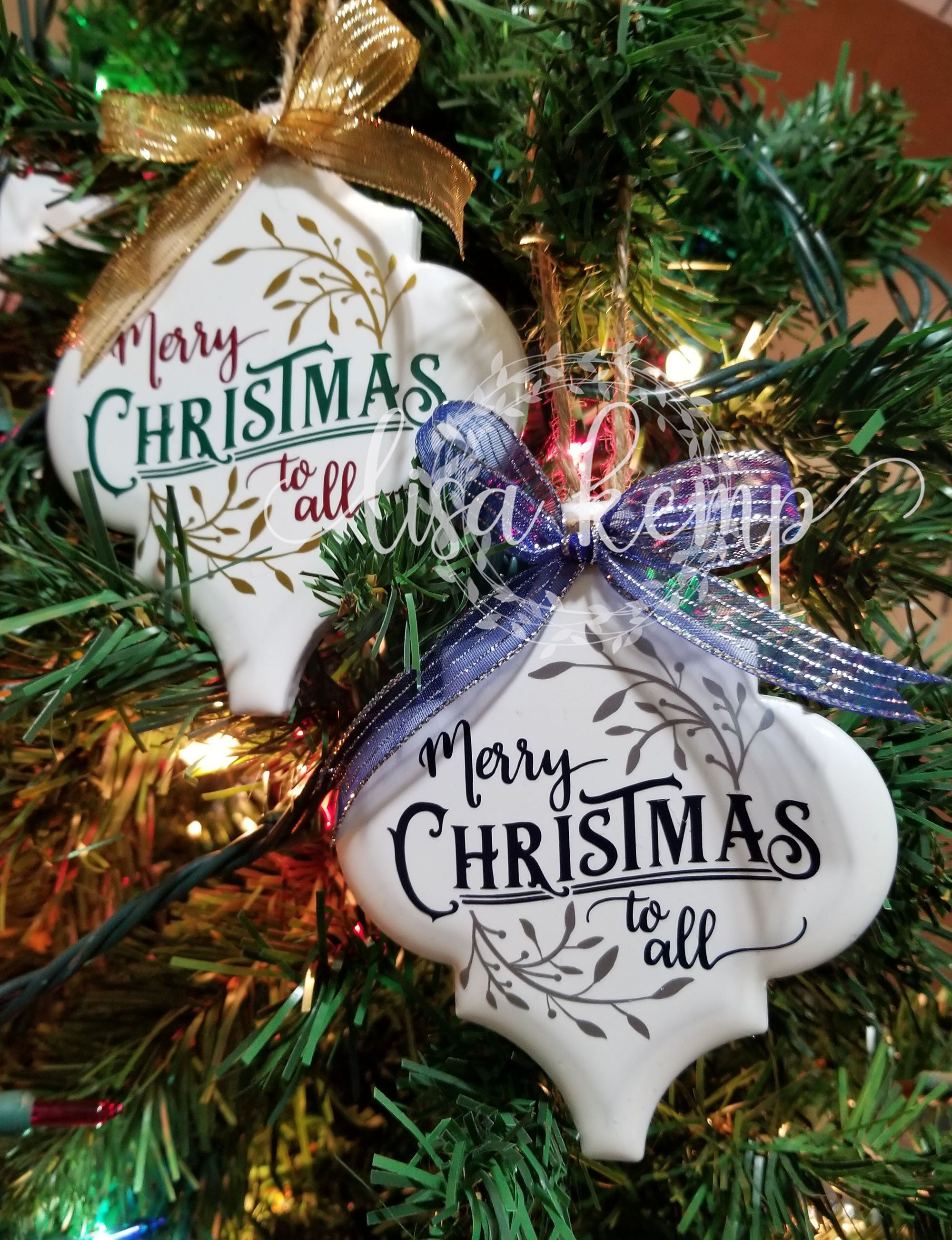Merry Christmas To All Ceramic Lantern Tile Ornament Etsy Christmas Ornaments Homemade Christmas Ornament Crafts Candy Christmas Decorations