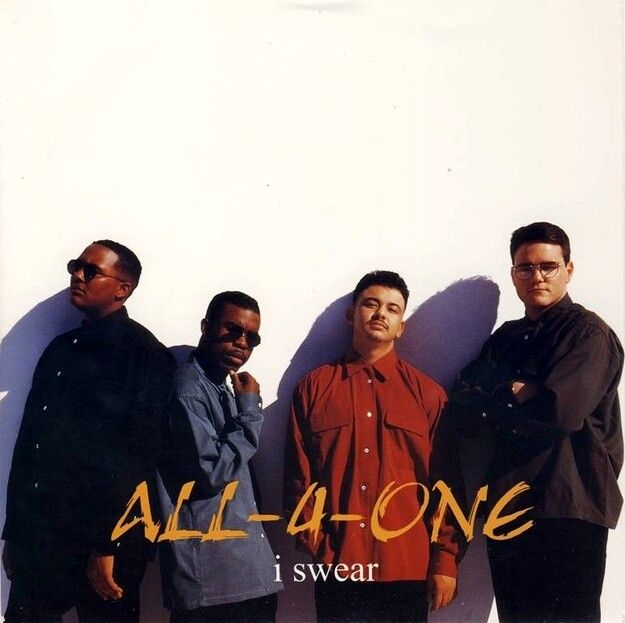 07 I Swear All 4 One All 4 One R B Artists Al All 4 One