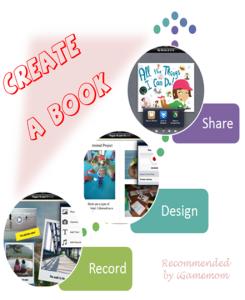 Create a Book with Book Creator Book creator, Kids app