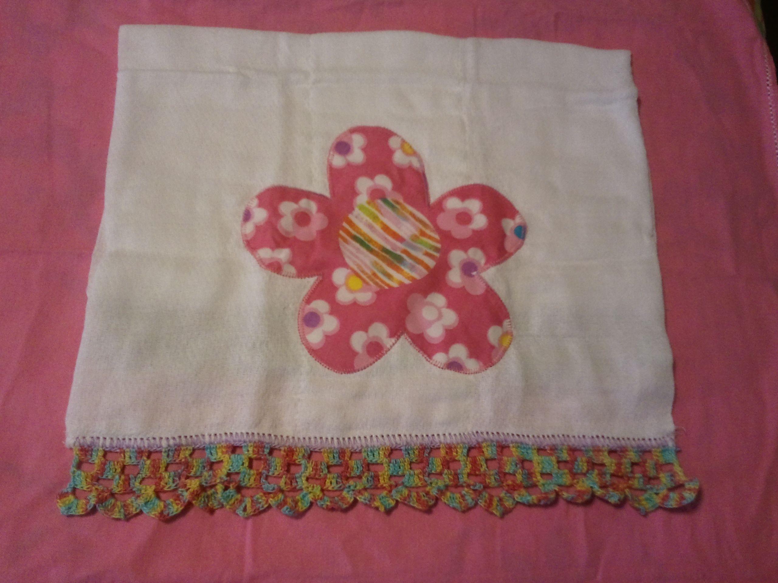 Puntillas Para Panos De Bebes En Crochet