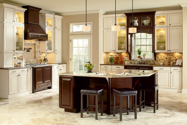 American Woodmark Cabinetry Collections Inexpensive Kitchen