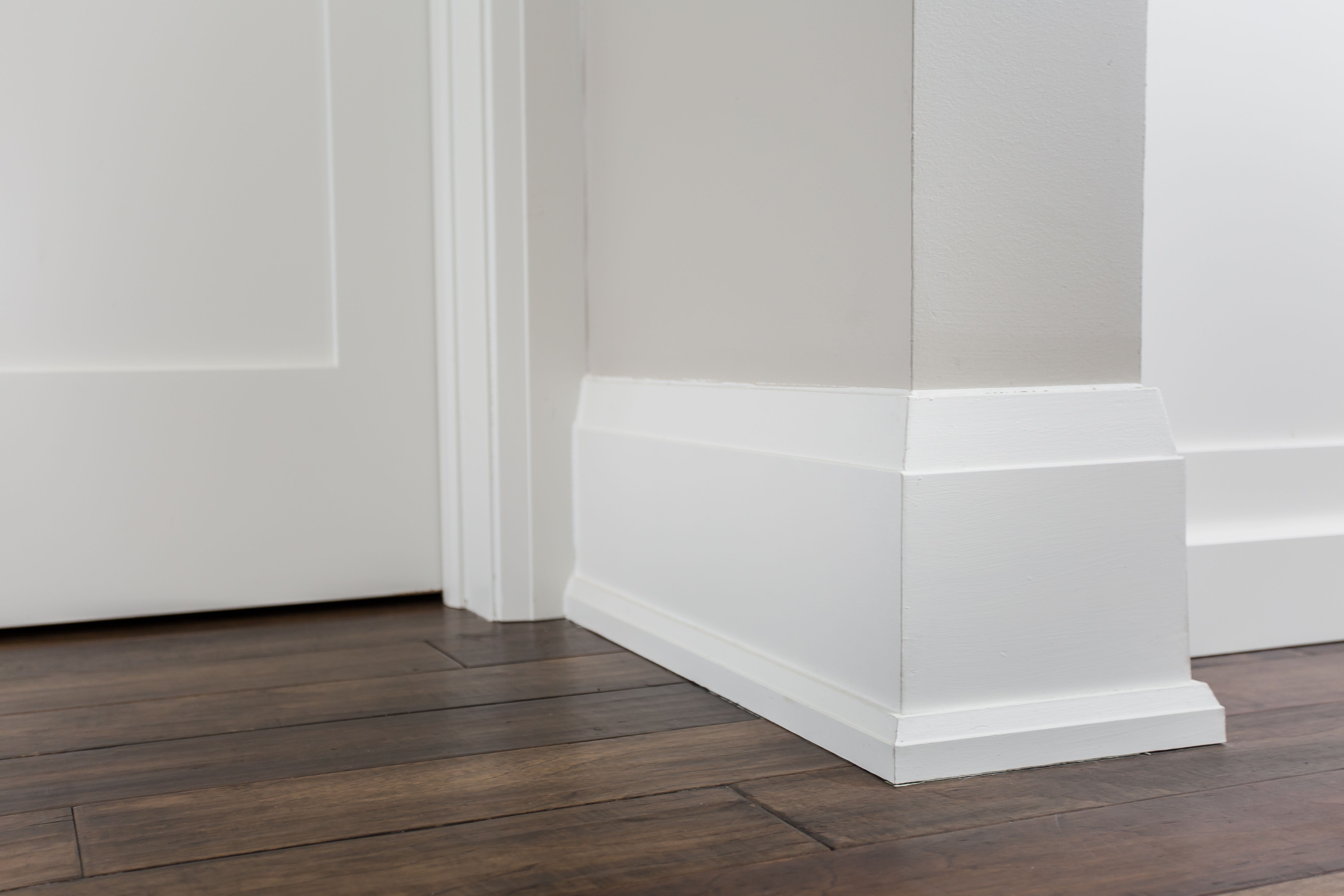 Contemporary Baseboards With Shoe Mould And Contemporary Casing