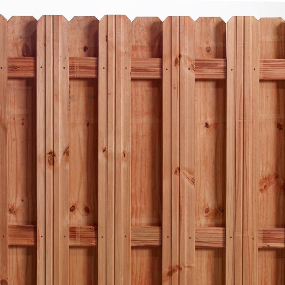 Outdoor Essentials 1 In X 6 In X 6 Ft Pressure Treated Cedar Tone Pine Moulded Fence Picket 6 Pack 322998 Wood Fence Outdoor Essentials Fence Panels