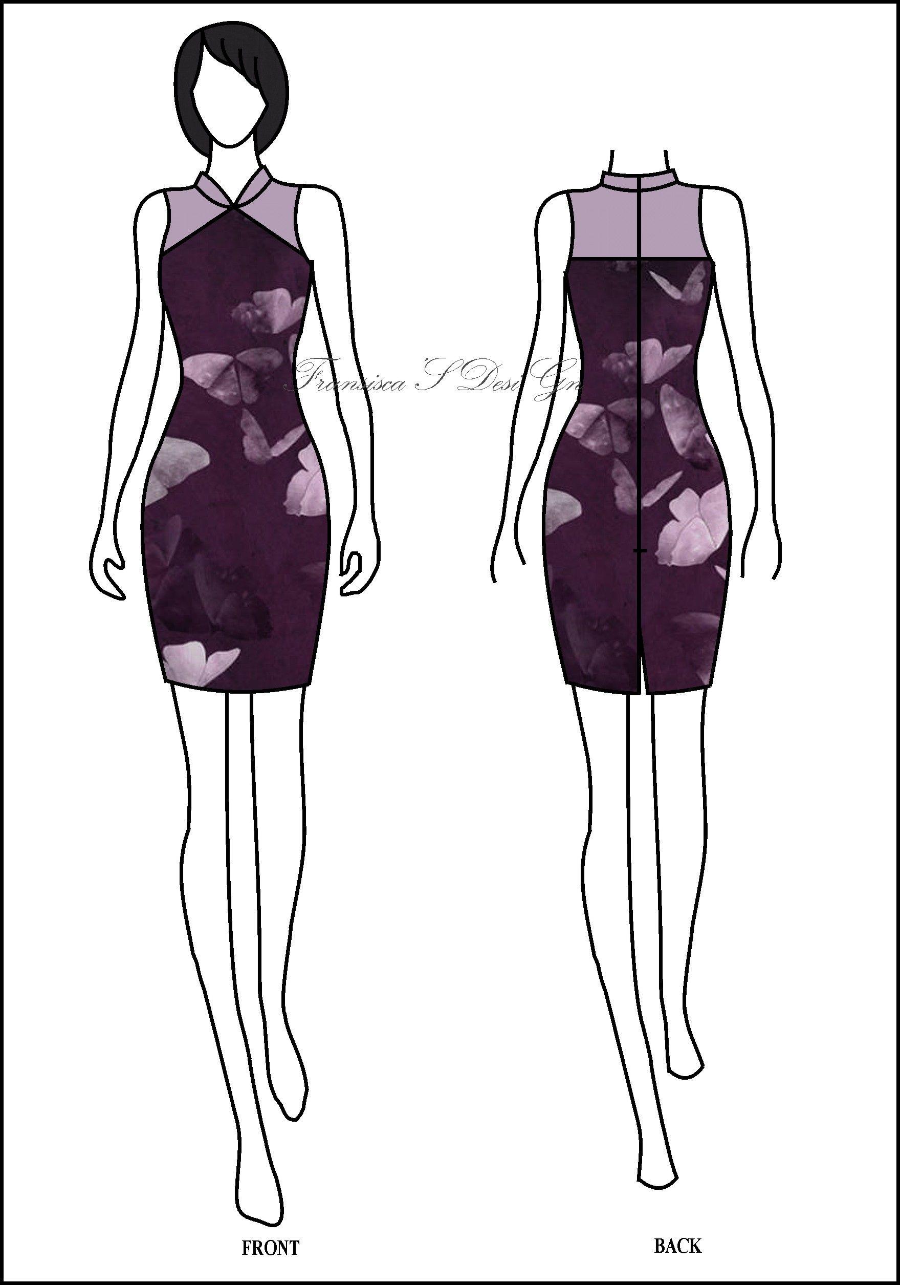 Dress span Shanghai (Cheongsam) #FashionDesigner #Butik #OnlineShop ...