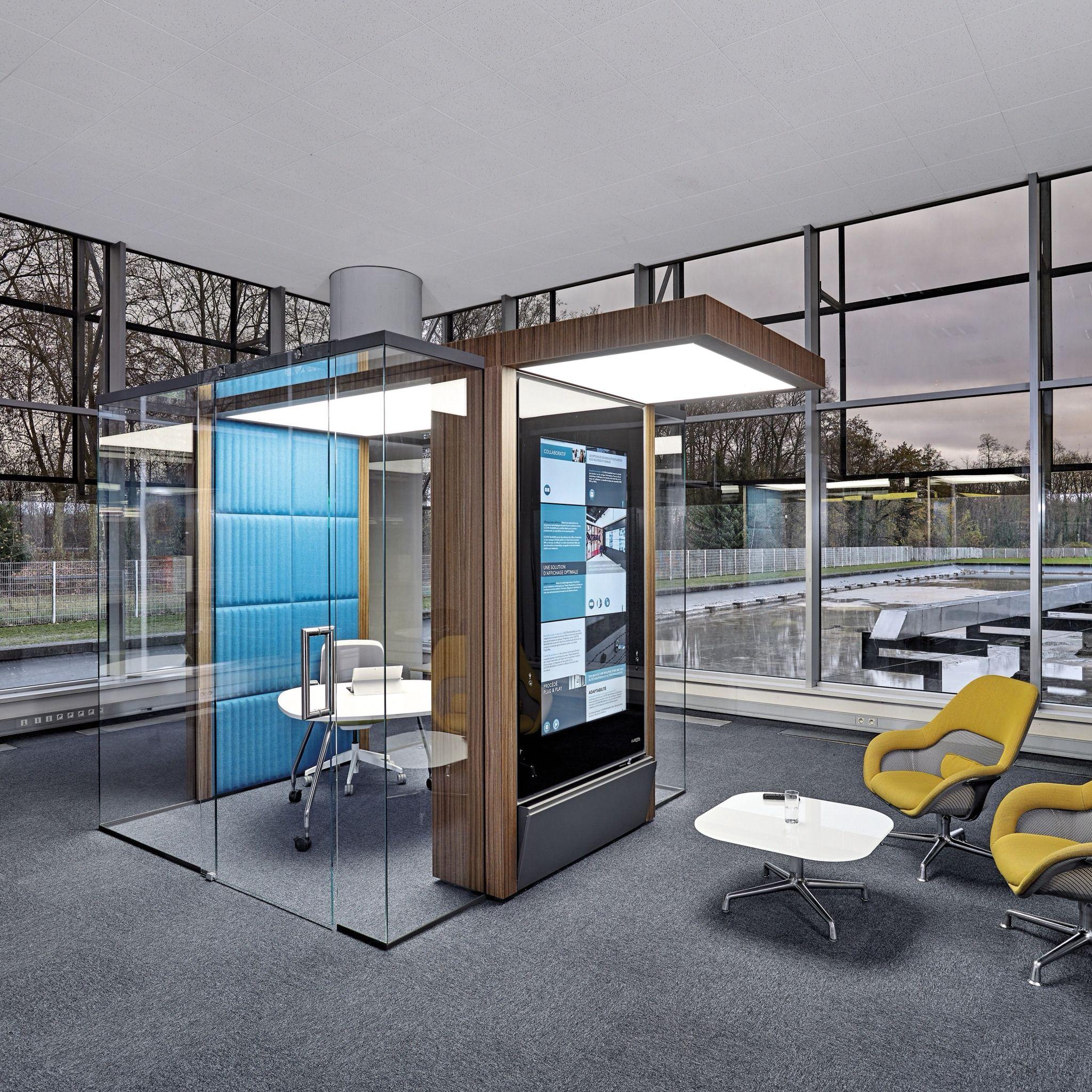IRYS/ Modular Workspace Solution/ Clestra Hauserman,  Illkirch Graffenstaden, Design:HOK