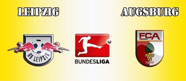 Hasil gambar untuk RB Leipzig vs Augsburg