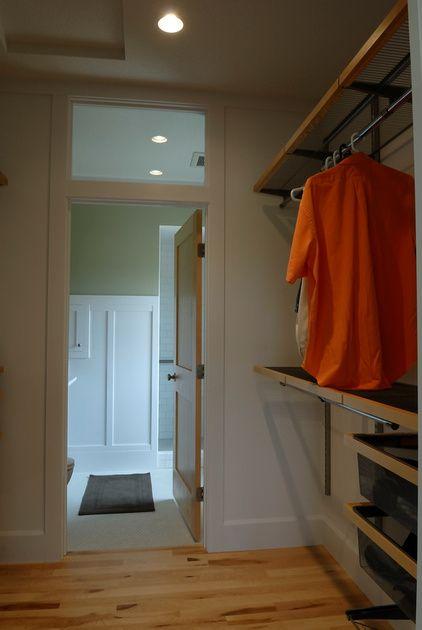 Go Through Closet To Get To Master Bath Blue Bathroom Decor Trendy Bathroom Tiles Blue Bathroom