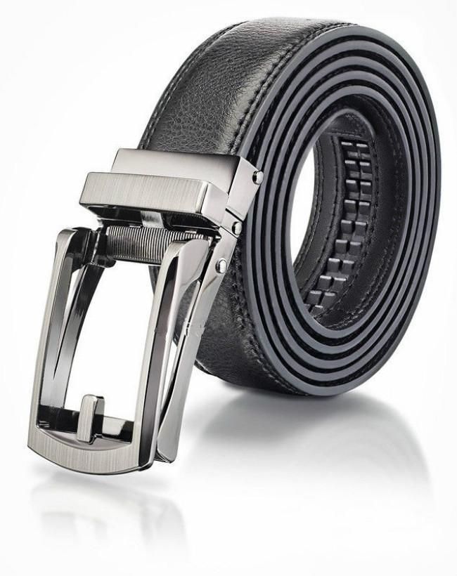$6.23 Automatic Lock Comfort Click Belt Leather With Steel