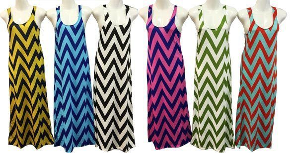 Pretty Plus size Summer Long Maxi Dress Chevron Design Print XL-XXL-XXXL #CHEVRONDESIGNFASHIONSUMMERDRESSES #Maxi #Formal
