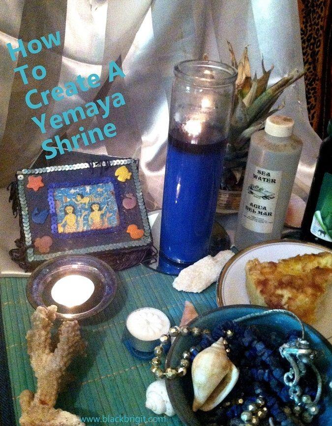 How To Create A Yemaya Shrine | Blessed Yemaya & Water Goddesses