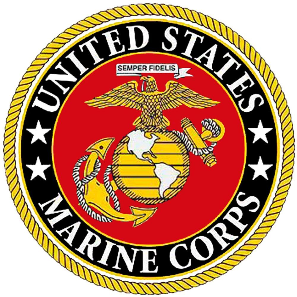 marine corps emblem quilting squares cotton fabric. Black Bedroom Furniture Sets. Home Design Ideas