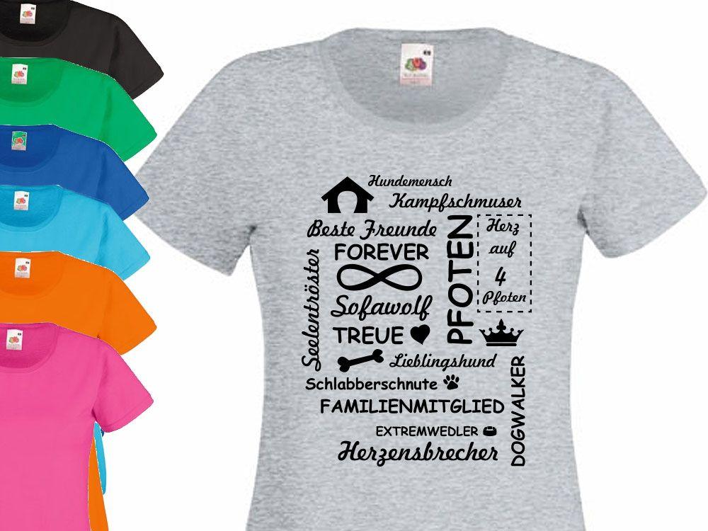 Hund Herz T Shirt Limitierte Edition Einzigartige Geschenkideen