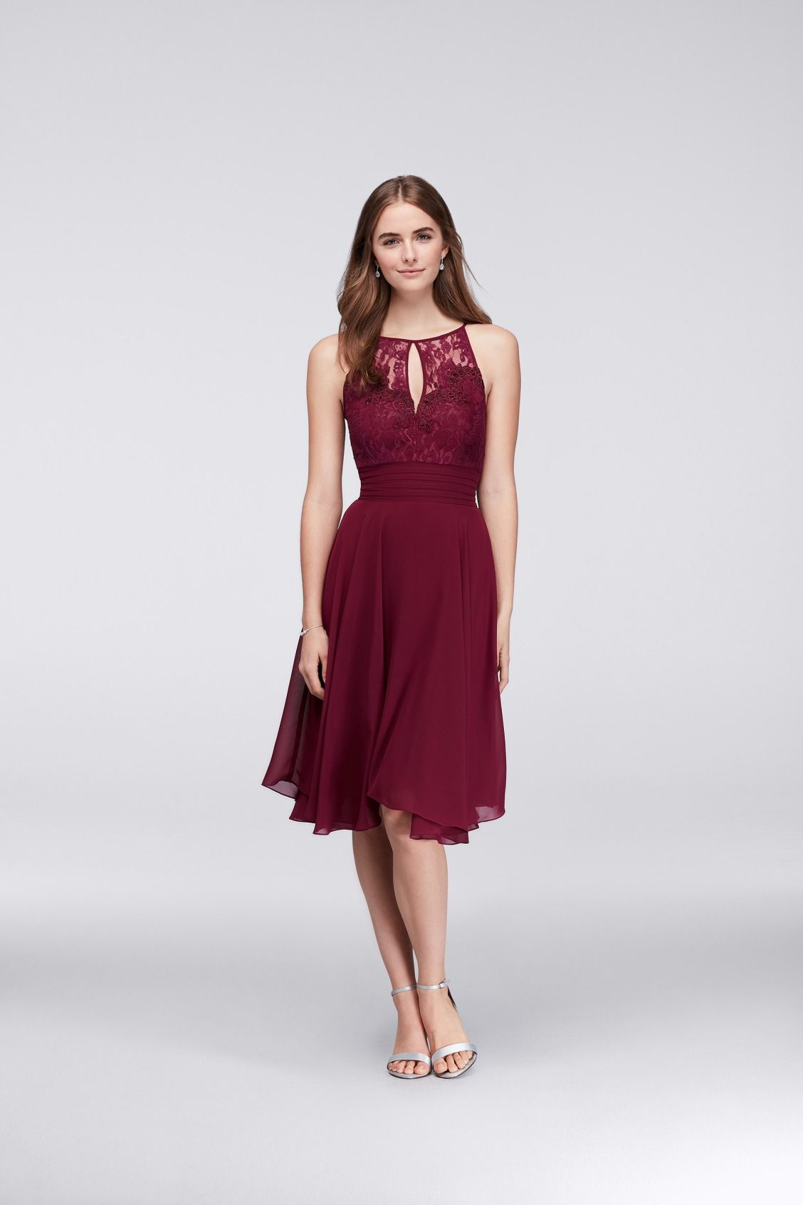a559013836 For your burgundy bridesmaids