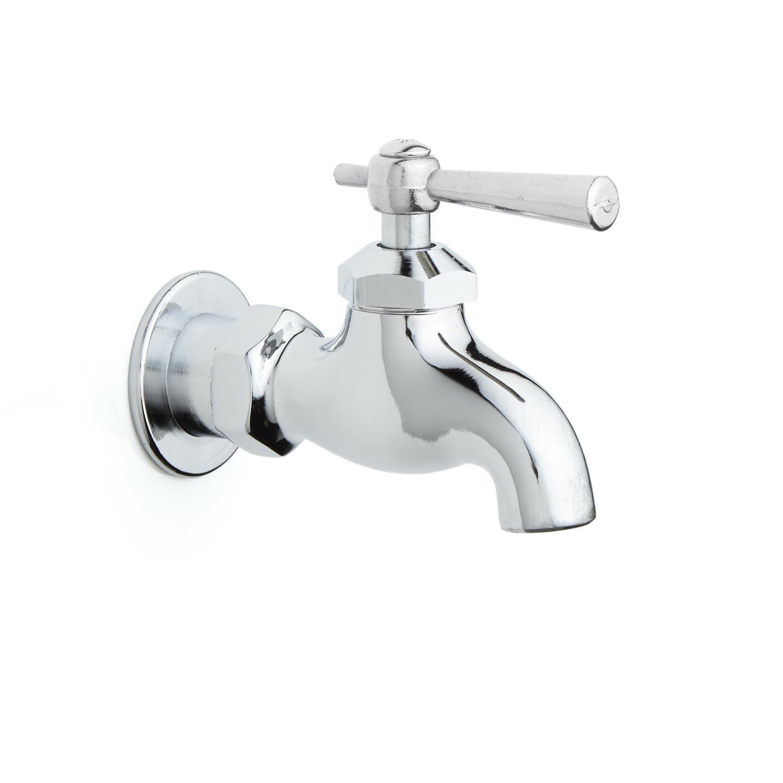 Ballantine Wall-Mount Bathroom Faucet - Lever Handles | Wall mount ...