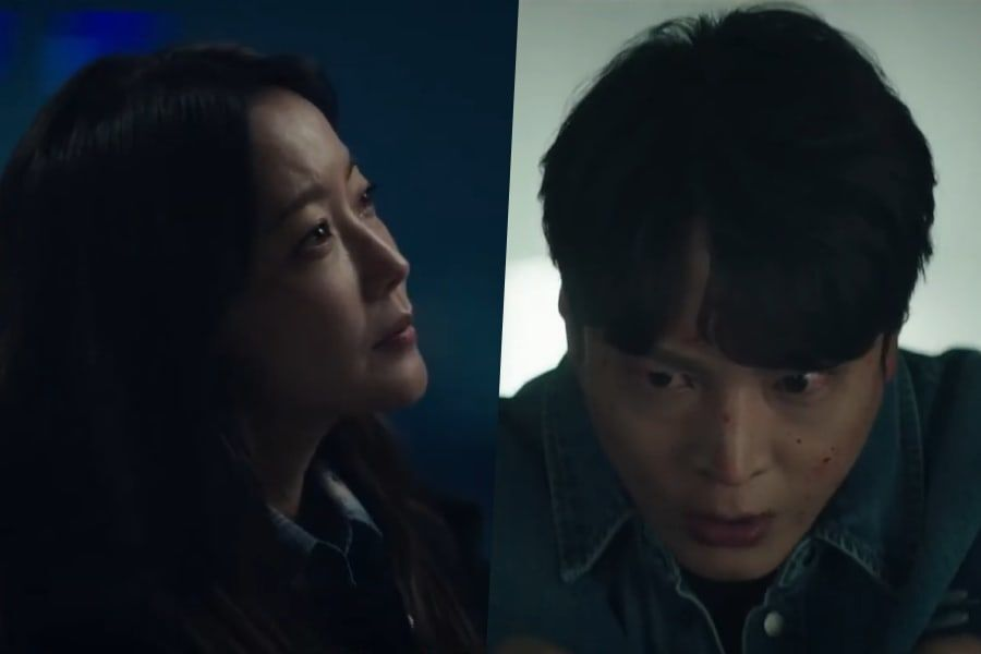 """Watch: Kim Hee Sun And Joo Won Seek Answers And Revenge In Teaser For Upcoming Sci-Fi Drama """"Alice"""""""