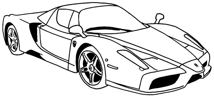 car line art - Google Search   Cars coloring pages, Race ...