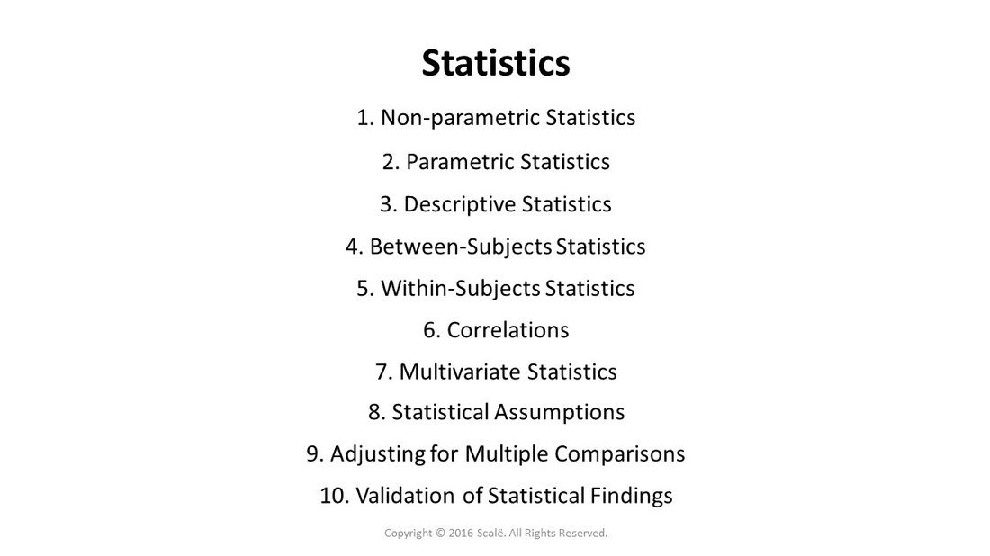 There Are Several Different Types Of Statistics Available In