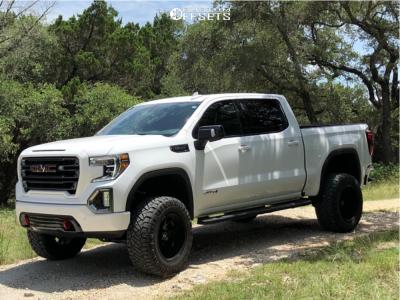 2019 Gmc Sierra 1500 Hostile H113 Nitto Ridge Grappler Texas