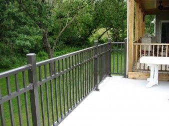 Avon Breadloaf Top Aluminum Deck Railing | Home Decor | Aluminum