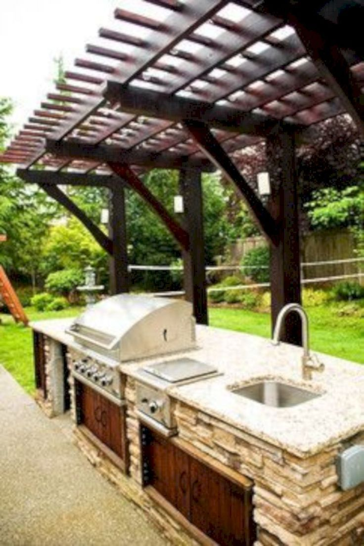 47 Moderne Outdoor Küche Entwirft Ideen Simple Outdoor Kitchen Outdoor Kitchen Design Diy Outdoor Kitchen