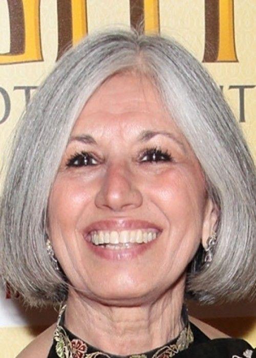 long hairstyles for gray hair  mediumlength gray