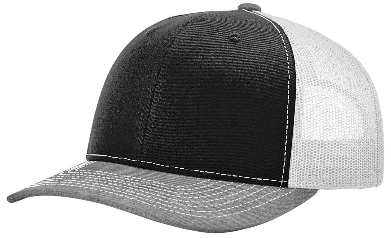 9c8ddefdf84 E20462 Richardson 112 Twill Mesh Snapback Trucker Caps