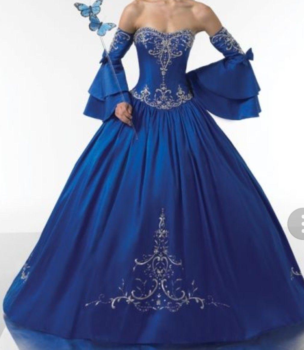 Robe bleu en reve
