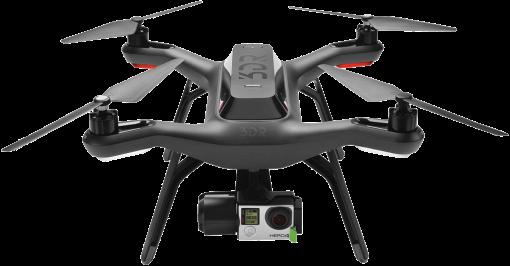 Schwarz 3DR Solo Quadrocopter Drohne ROBOTICS SA15A Solo Aerial Drone Kit