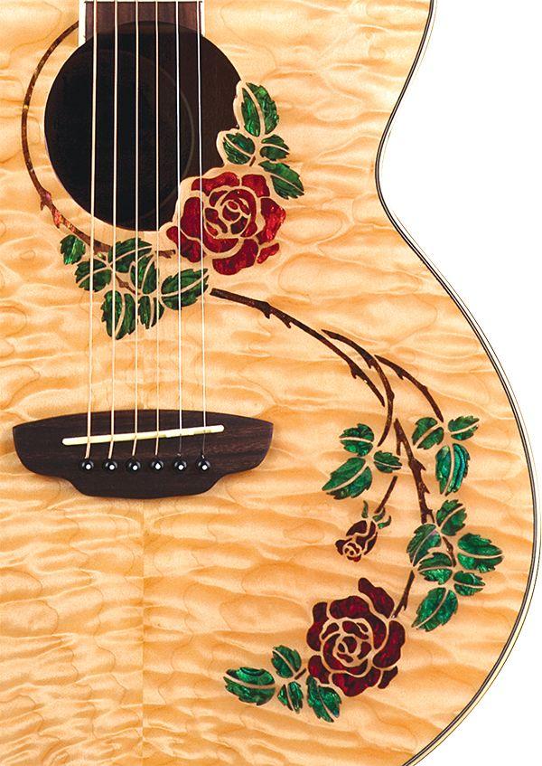 Hand Painted Guitars Ukuleles Lichty Guitars 3 Guitar Painting Guitar Art Guitar