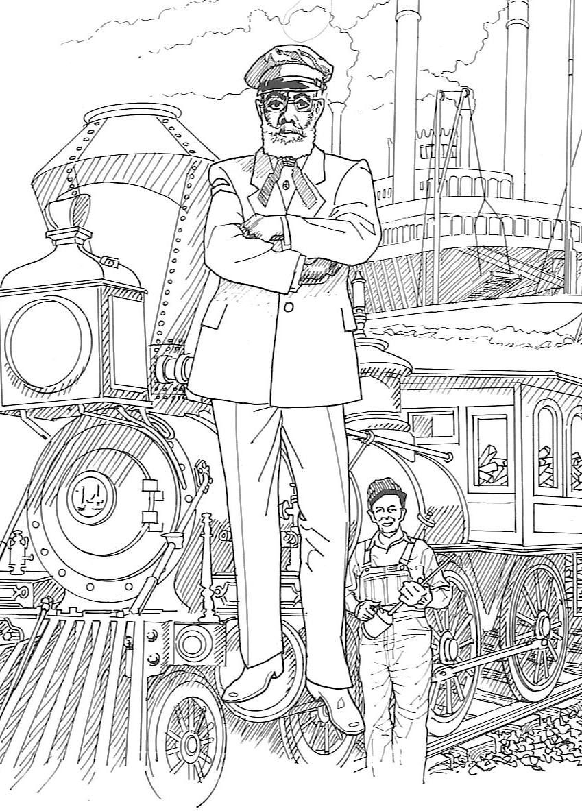 black-history-coloring-pages-mccoy.jpg 849×1,183 pixels | New Years ...