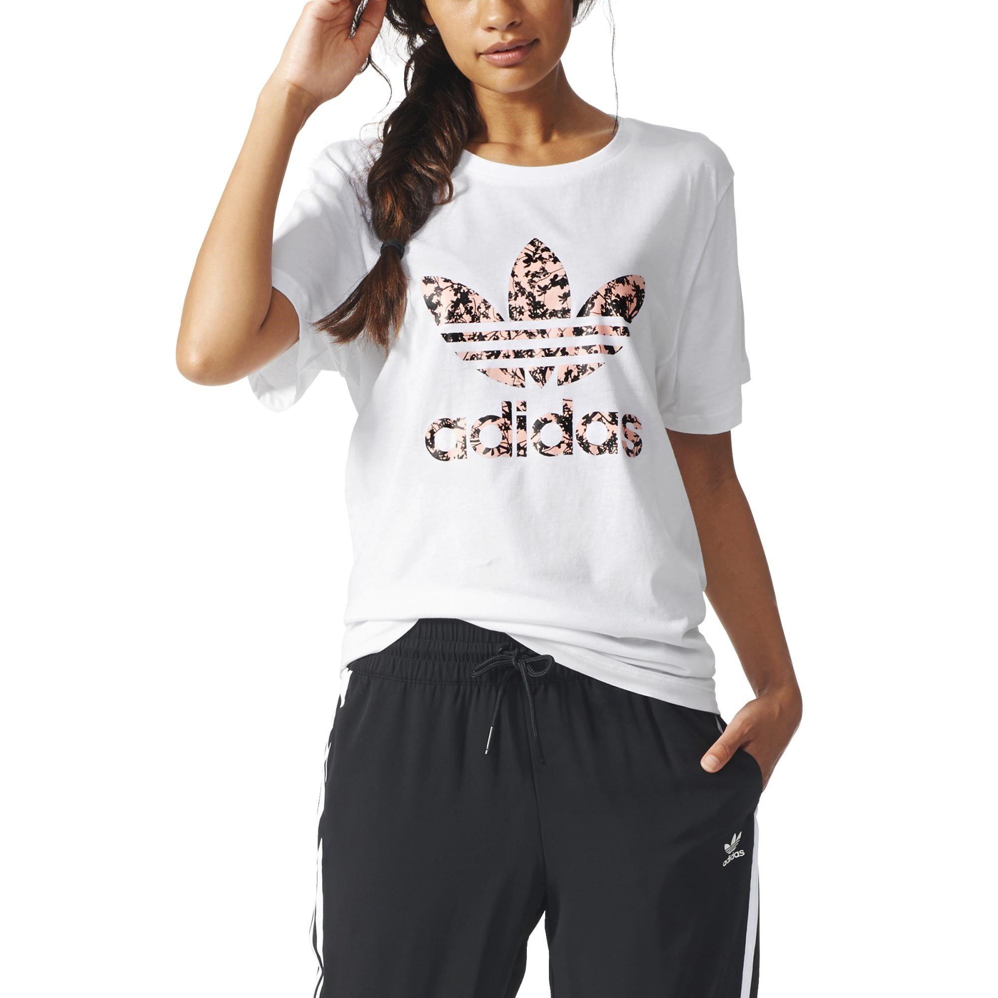 Kadin Bayan Tisort Adidas Adidas Bayan T Shirt Bf Trefoil Tee 00 Kadin Kadin Giyim Tisort