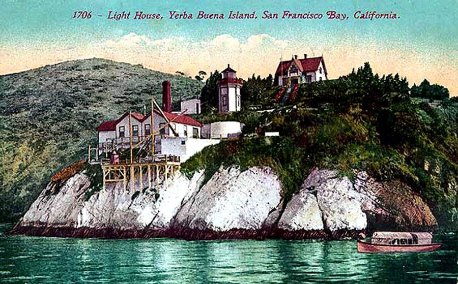 Light House, Yerba Buena Island, San Fransisco Bay, California