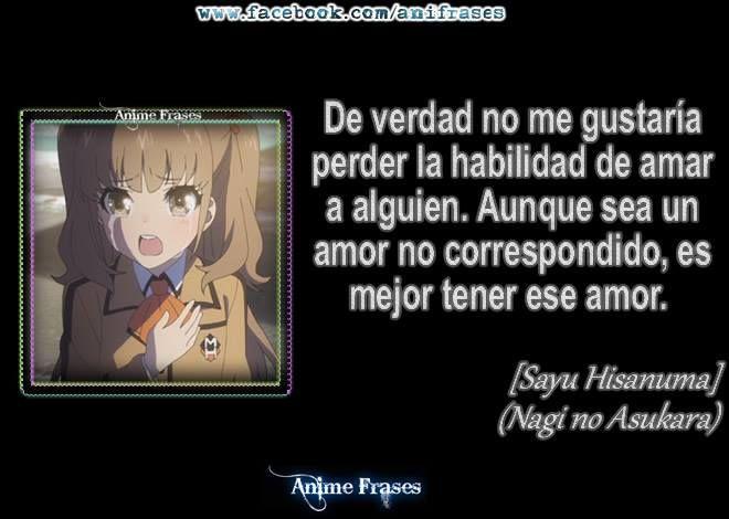 Nagi No Asukara Frases Anime T