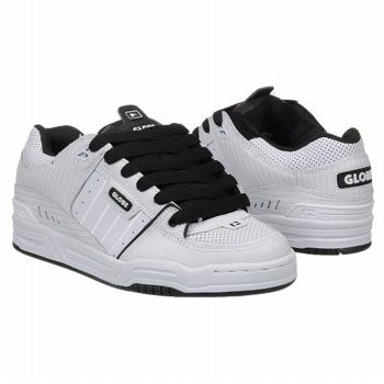 Globe Fusion Shoes (White/Black/White) - Men's Shoes - 8.0 M