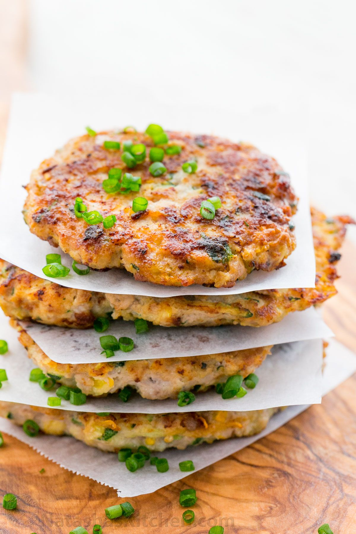 These Chicken Zucchini Fritters Are Healthier Than Regular