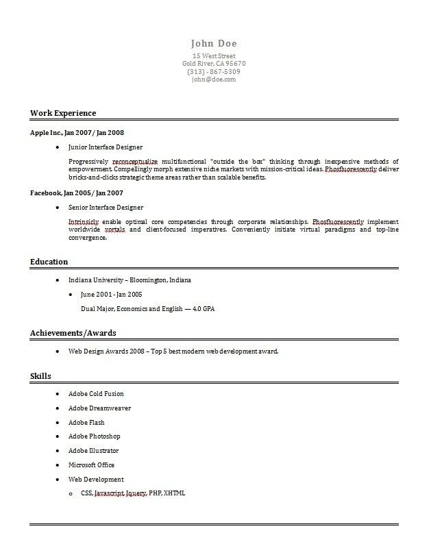online resume builder free example creator for download dato - usajobs online resume builder