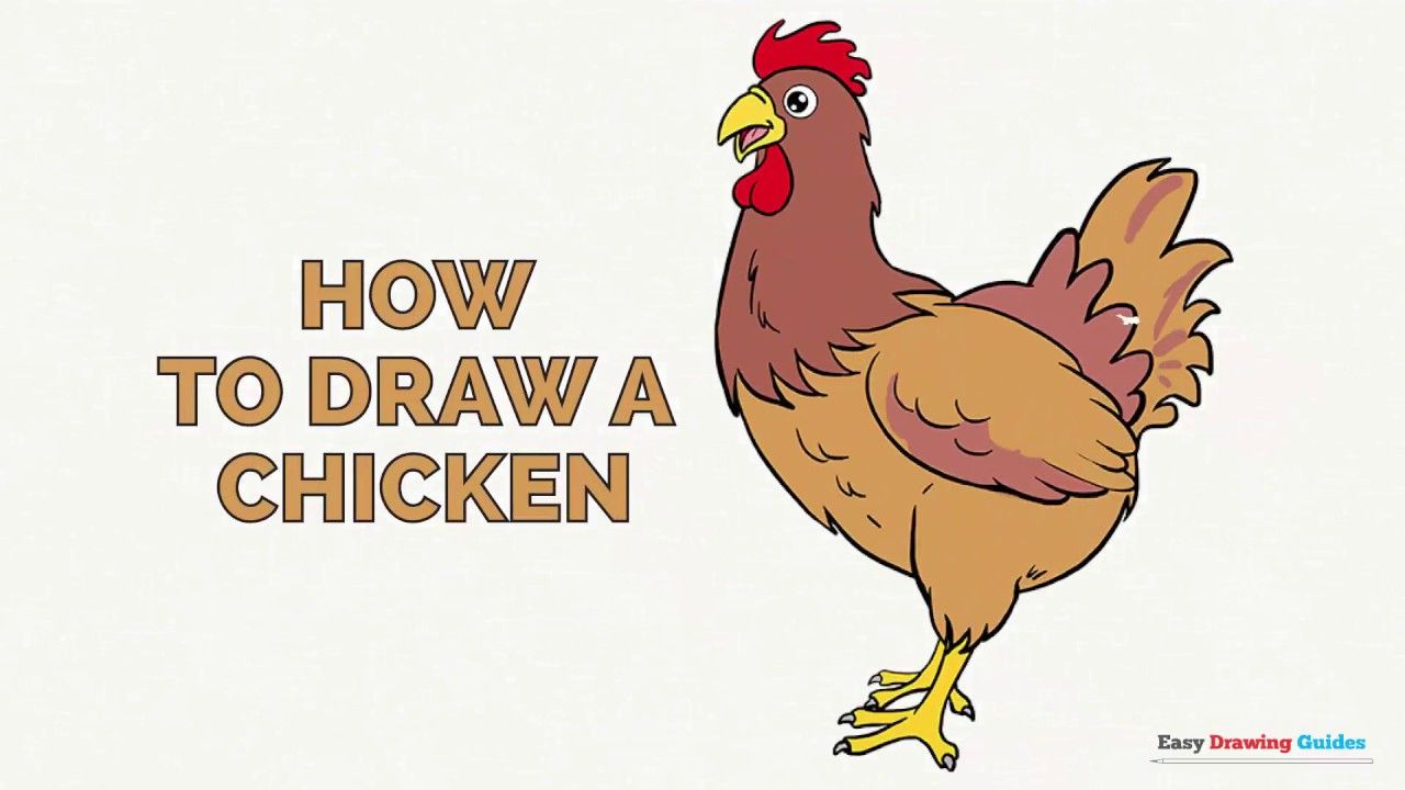 Learn How to Draw a Chicken: Easy Step-by-Step Drawing ...