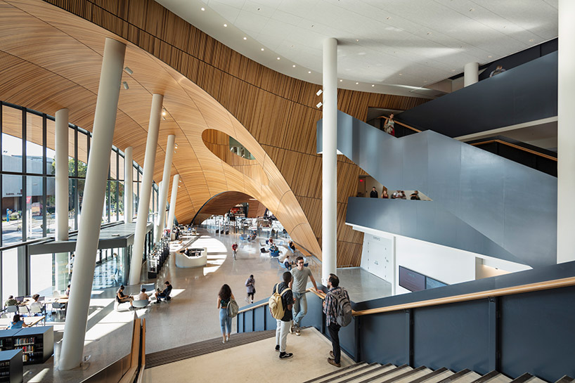 Snohetta Completes The Charles Library At Temple University In