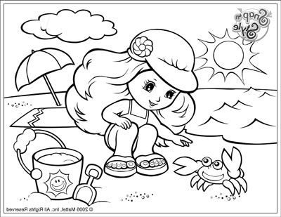 Beach Coloring Pages | Embroidery | Pinterest | Beach, Summer crafts ...