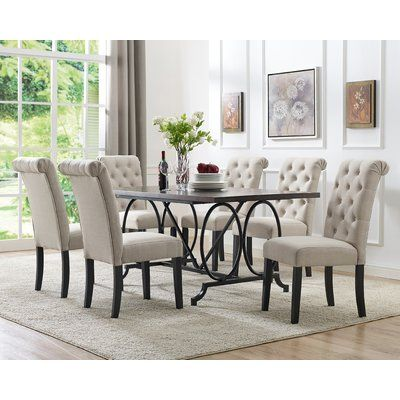 Darby Home Co Niall 7 Piece Dining Set 7 Piece Dining Set Cheap