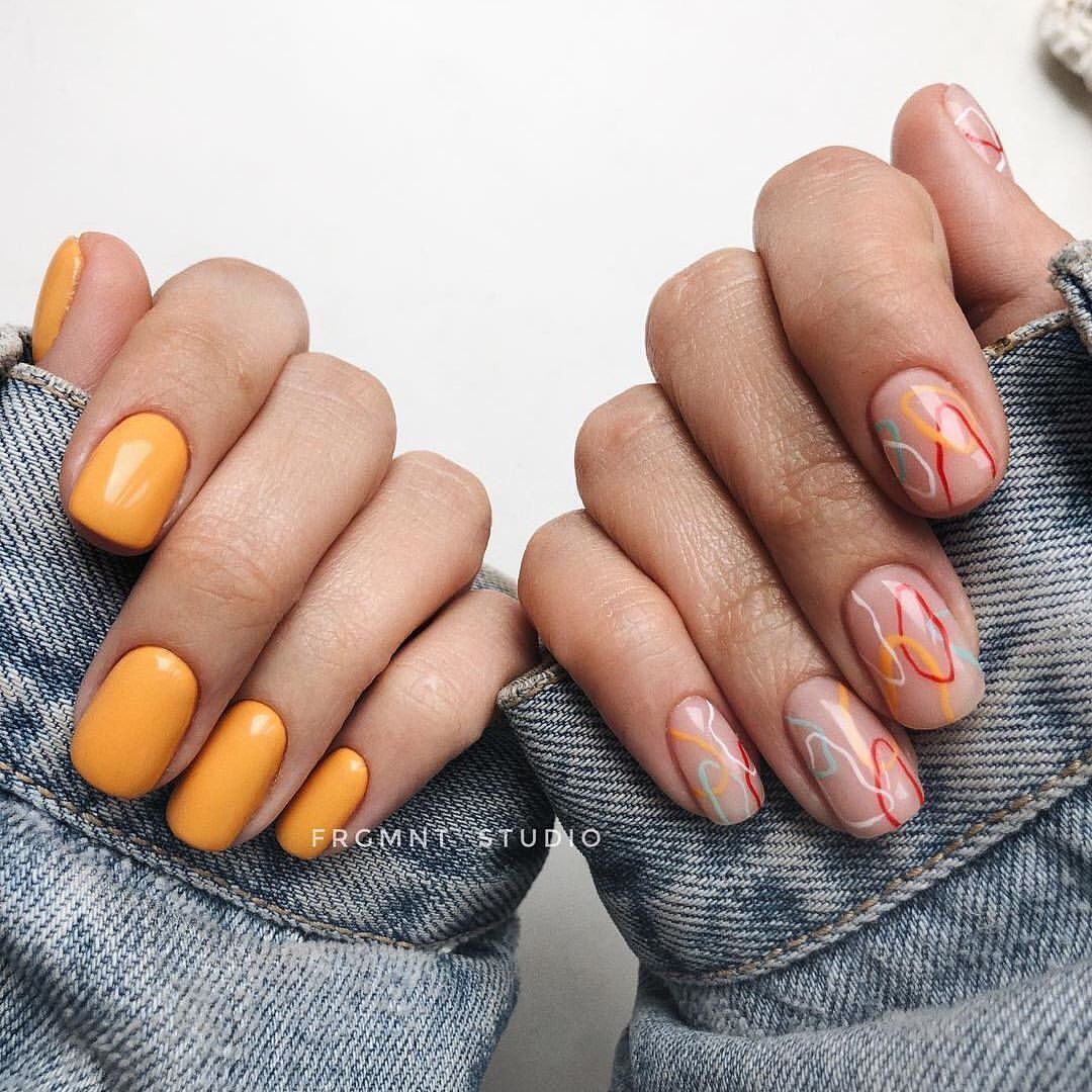 40 Stunning Manicure Ideas For Short Nails 2020 - Short Gel Nail Arts