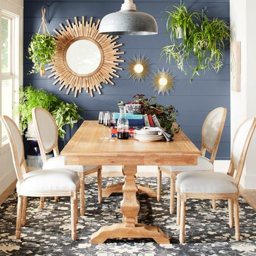 One Dining Room Three Different Ways: Bradding Honey Stonewash Dining Tables In 2020