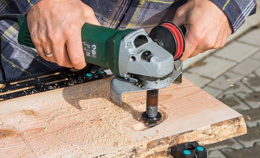 Fräsaufsatz Bohrmaschine Holz fräsaufsatz schnitzen möbel holz und fräsen