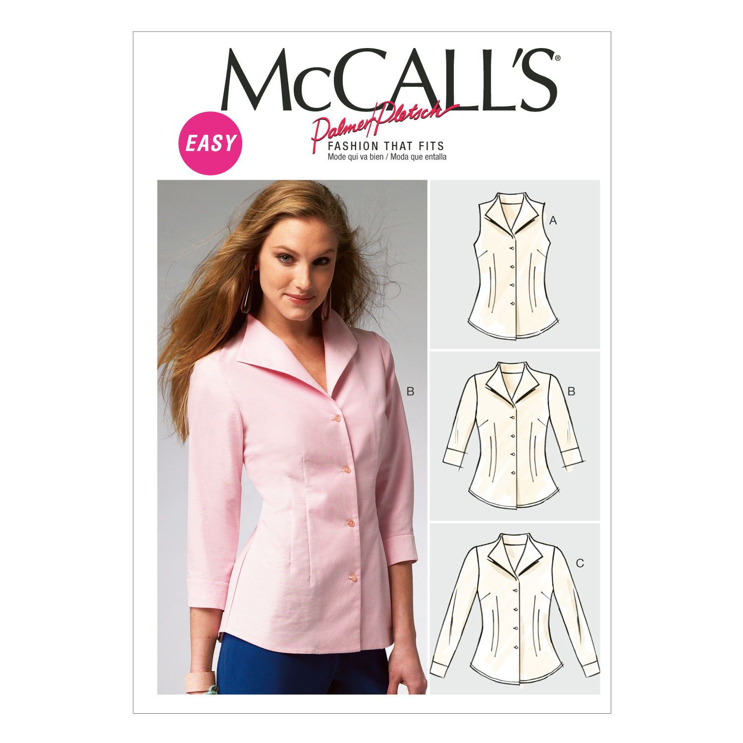 McCall\'s Misses Top - M6750 | Gallery wall | Pinterest | Costura ...