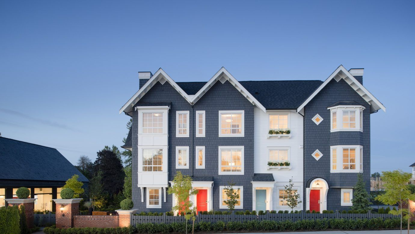 Mosaic townhomes in langley
