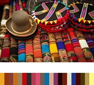 Color inspiration, palettes and trends.