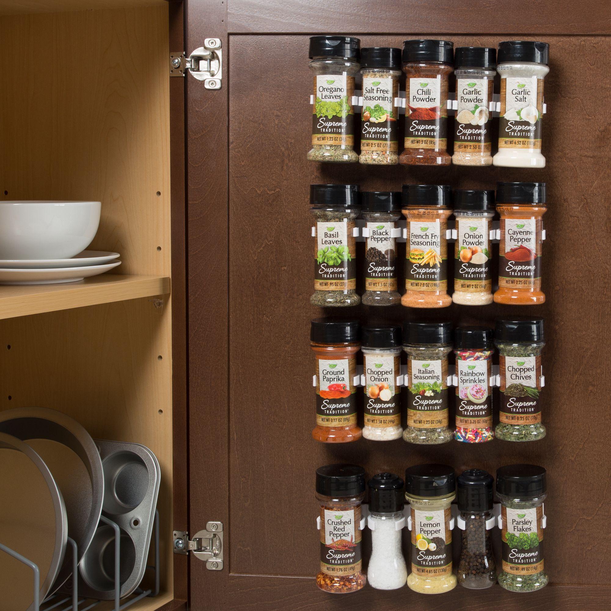 Home Spice Storage Spice Rack Organiser Kitchen Organization Diy