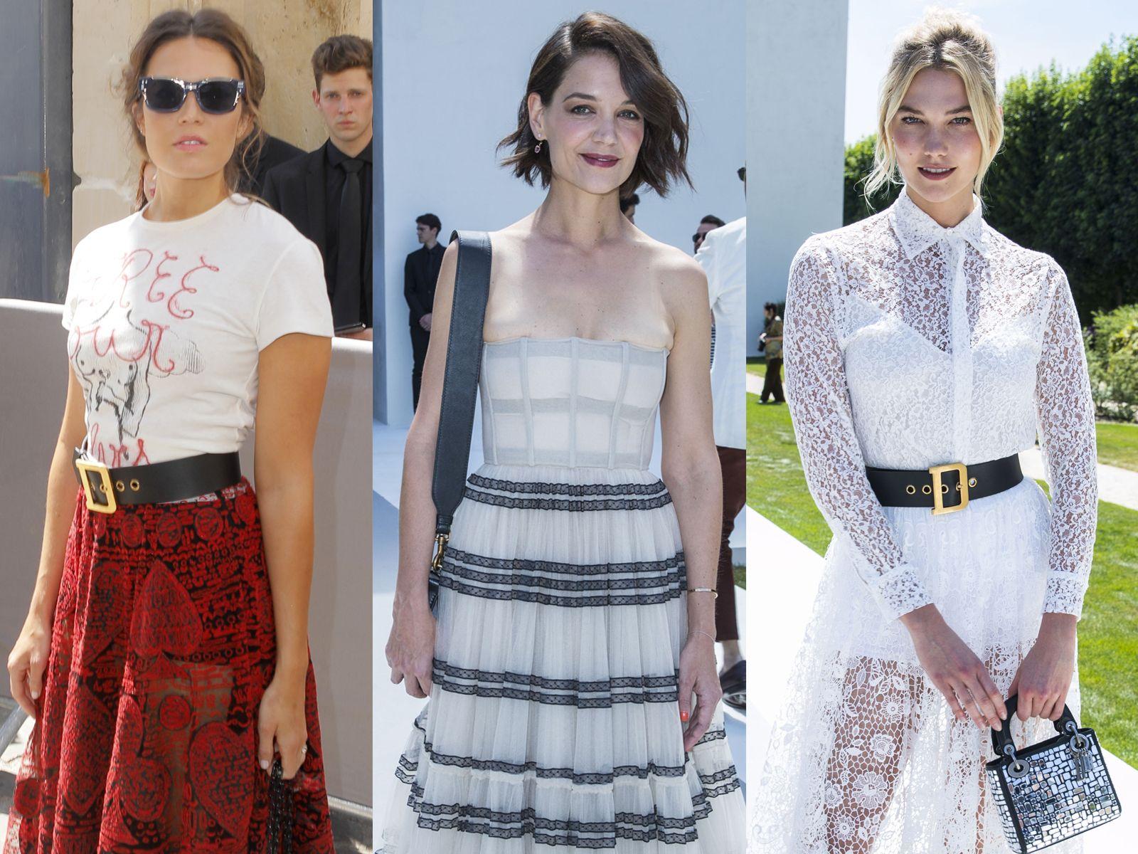 97bc6999a76 Fashion week   les looks des people décryptés au défilé Dior