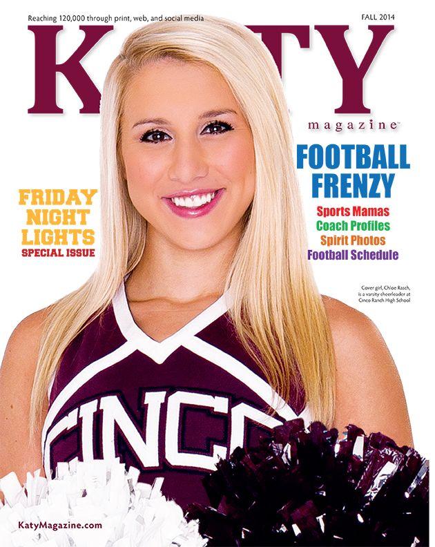 #MagazineCover #KatyTexas #KatyTX #MagazineDesign #CincoRanch #CincoRanchCougars #Cheerleader